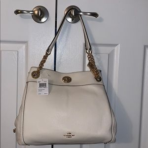 Coach - Turnlock Edie shoulder bag pebble leather